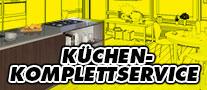 Küchen-Komplettservice - Küchenaufmaß vor Ort