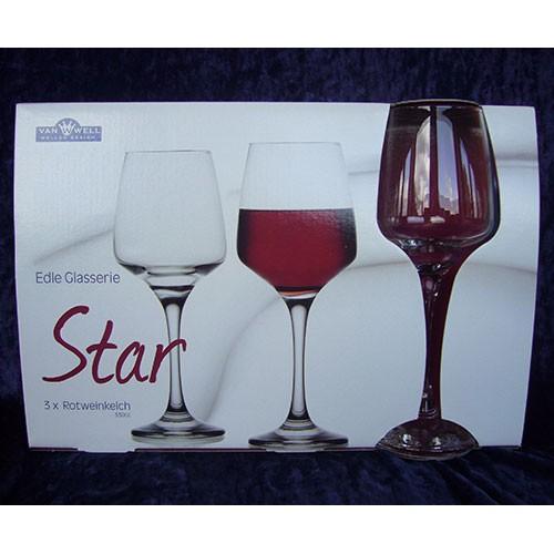 Rotweingläser STAR
