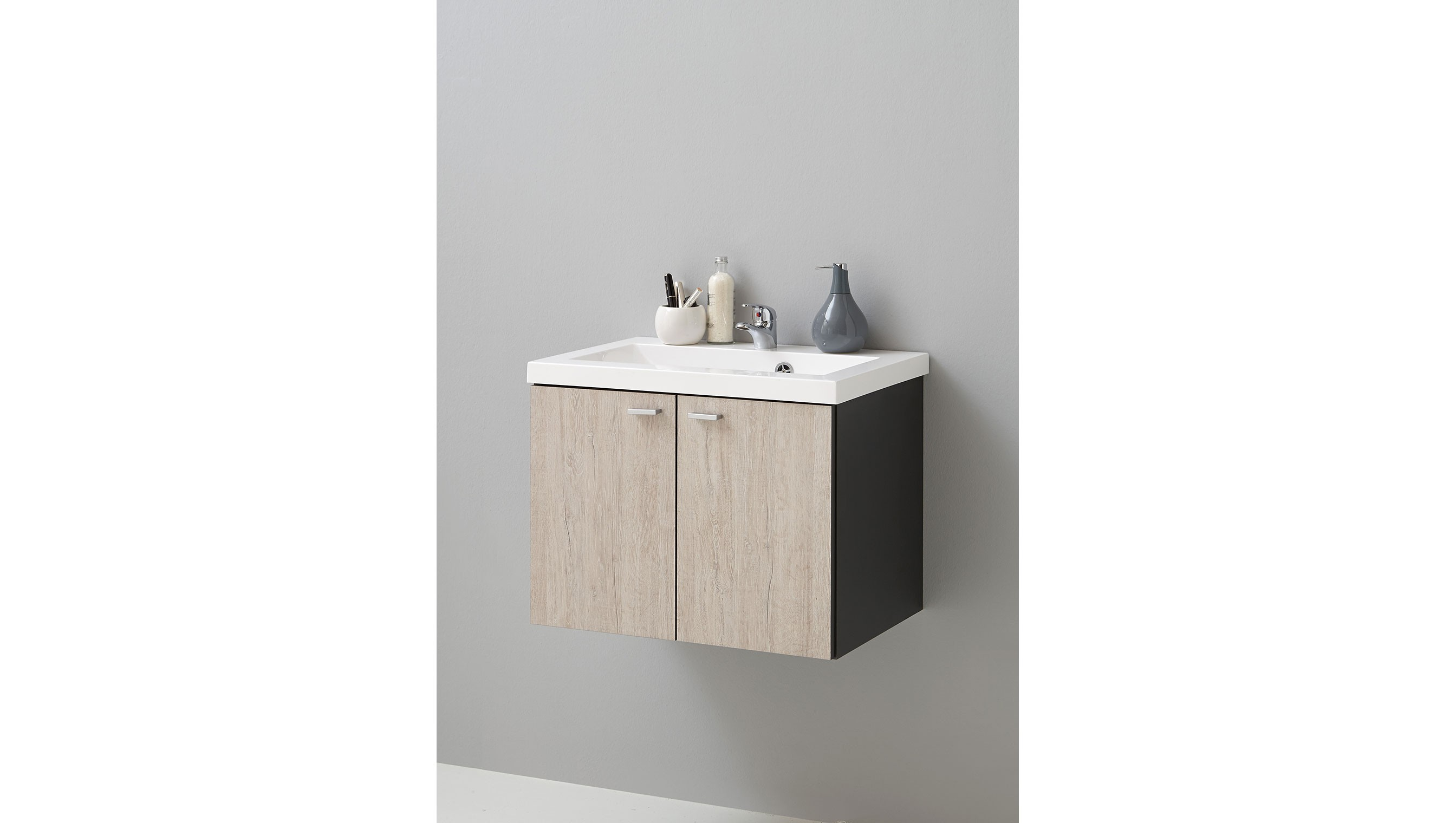 Waschbeckenunterschrank Sandeiche - Spilger´s Sparmaxx