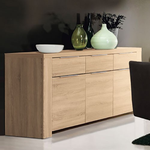 esszimmer sideboard sonoma eiche spilger s sparmaxx. Black Bedroom Furniture Sets. Home Design Ideas