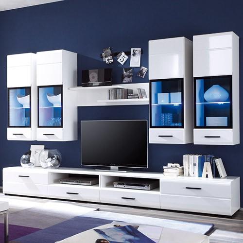 wohnwand ohne fernsehteil perfekt wohnwand buche nachbildung ohne fernsehteil herrlich kreative. Black Bedroom Furniture Sets. Home Design Ideas