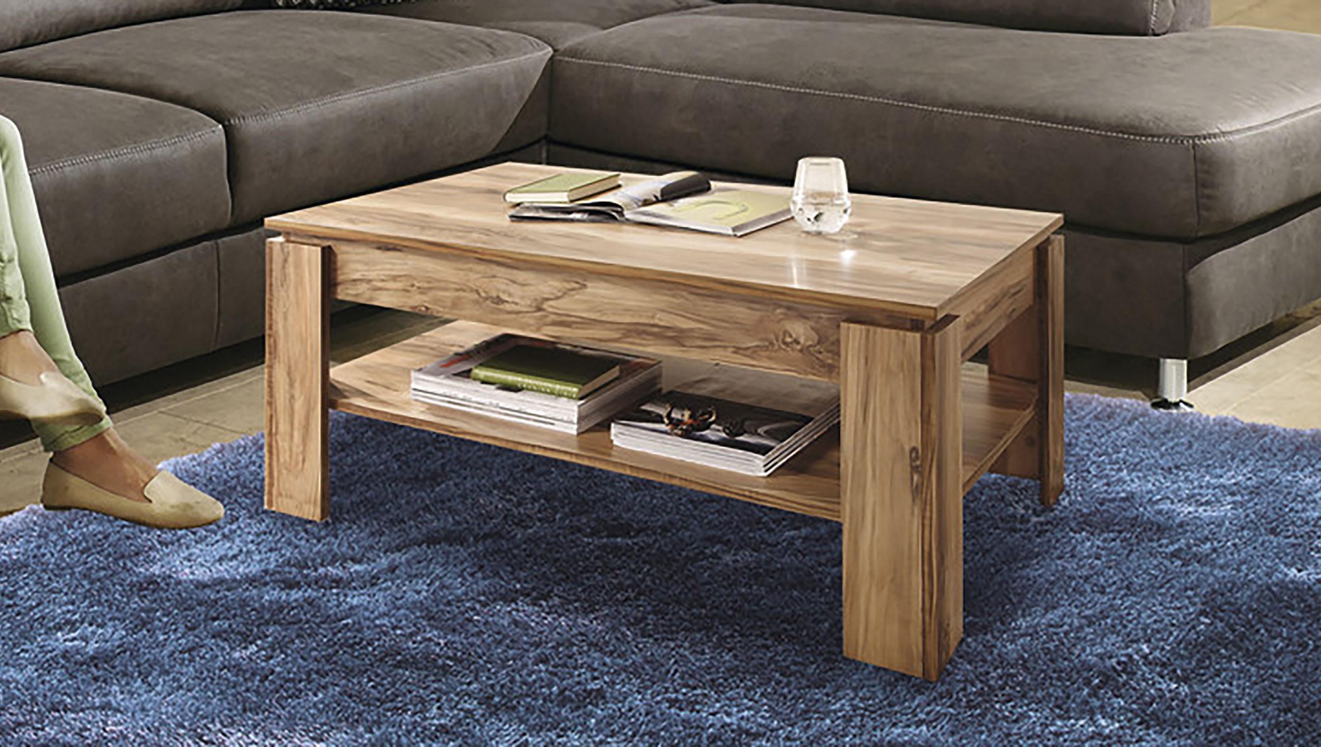 93 wohnzimmertisch nussbaum satin couchtisch. Black Bedroom Furniture Sets. Home Design Ideas