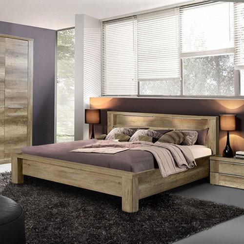 bett eiche antik nachbildung spilger s sparmaxx. Black Bedroom Furniture Sets. Home Design Ideas
