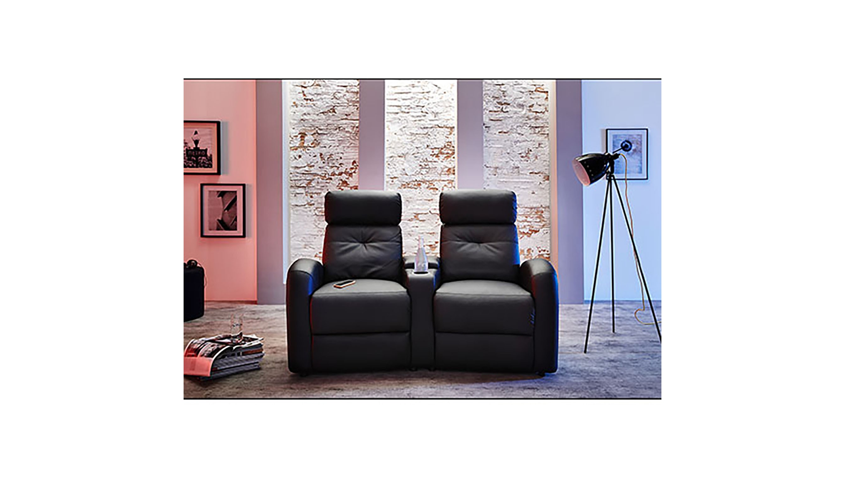 2er sessel houston cinema spilger s sparmaxx. Black Bedroom Furniture Sets. Home Design Ideas