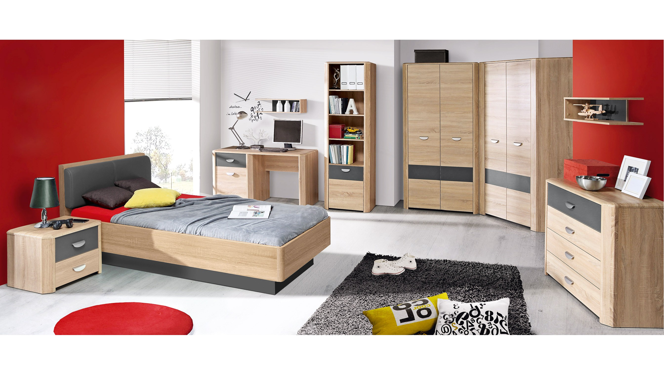 jugendzimmer yoop spilger s sparmaxx. Black Bedroom Furniture Sets. Home Design Ideas