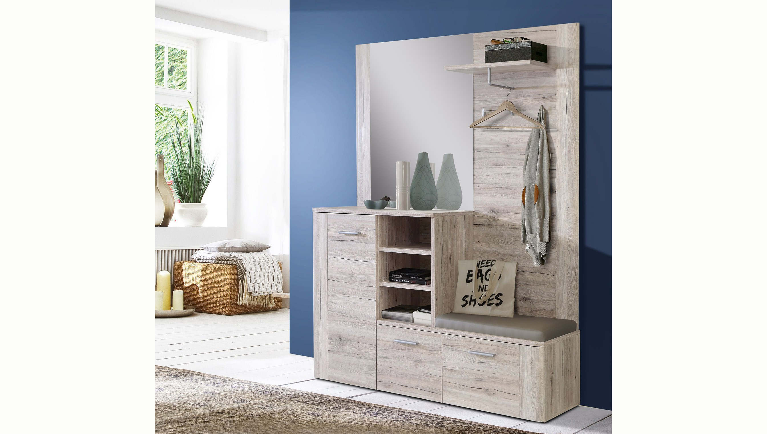 garderobe best usm haller garderobe mm breit mit klapptre with garderobe garderobe u. Black Bedroom Furniture Sets. Home Design Ideas