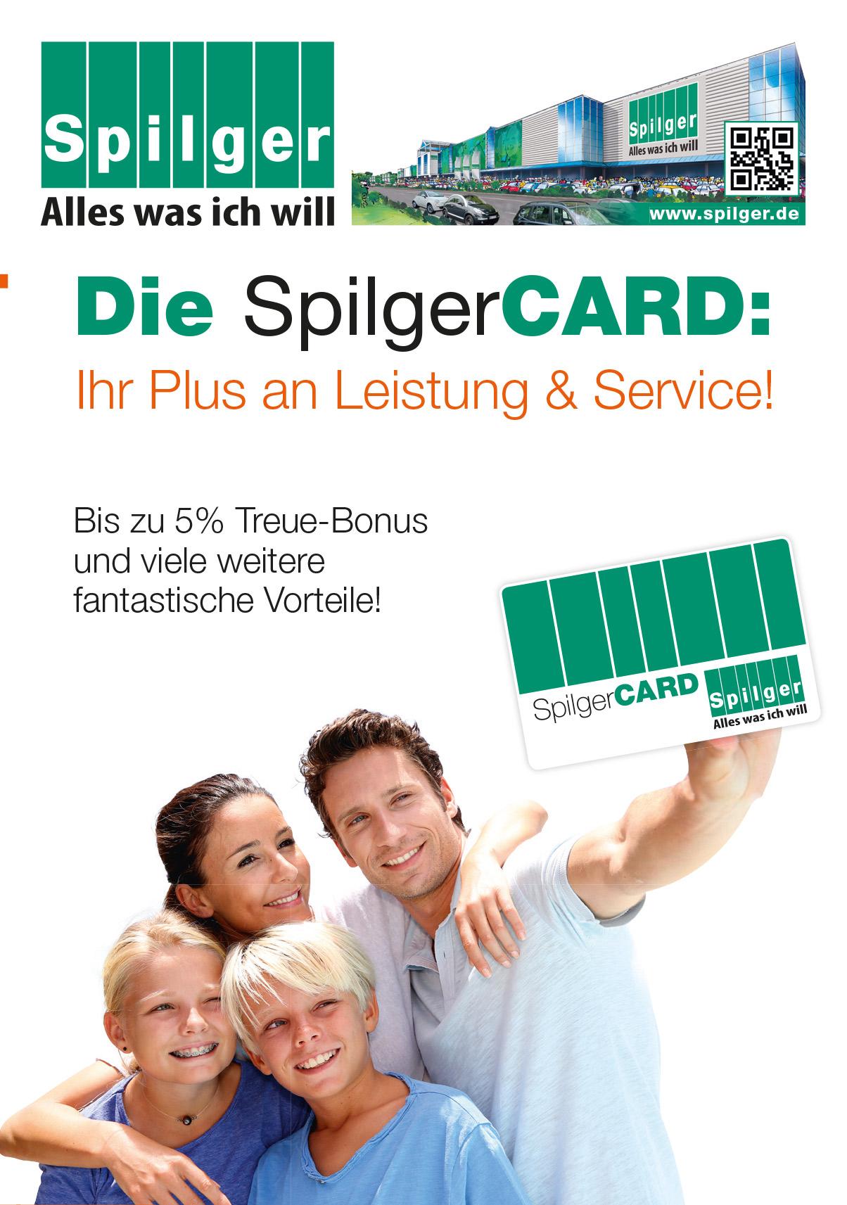 Kundenkarte Spilger Card Sparmaxx Möbelhäuser Spilgers Sparmaxx